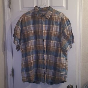 Mens plaid shirt